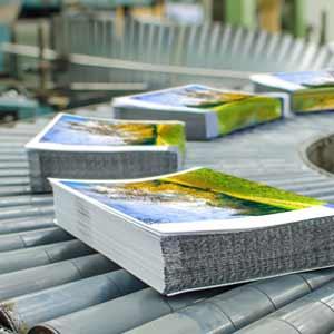 Usinage de pièce de métal CNC - imprimerie