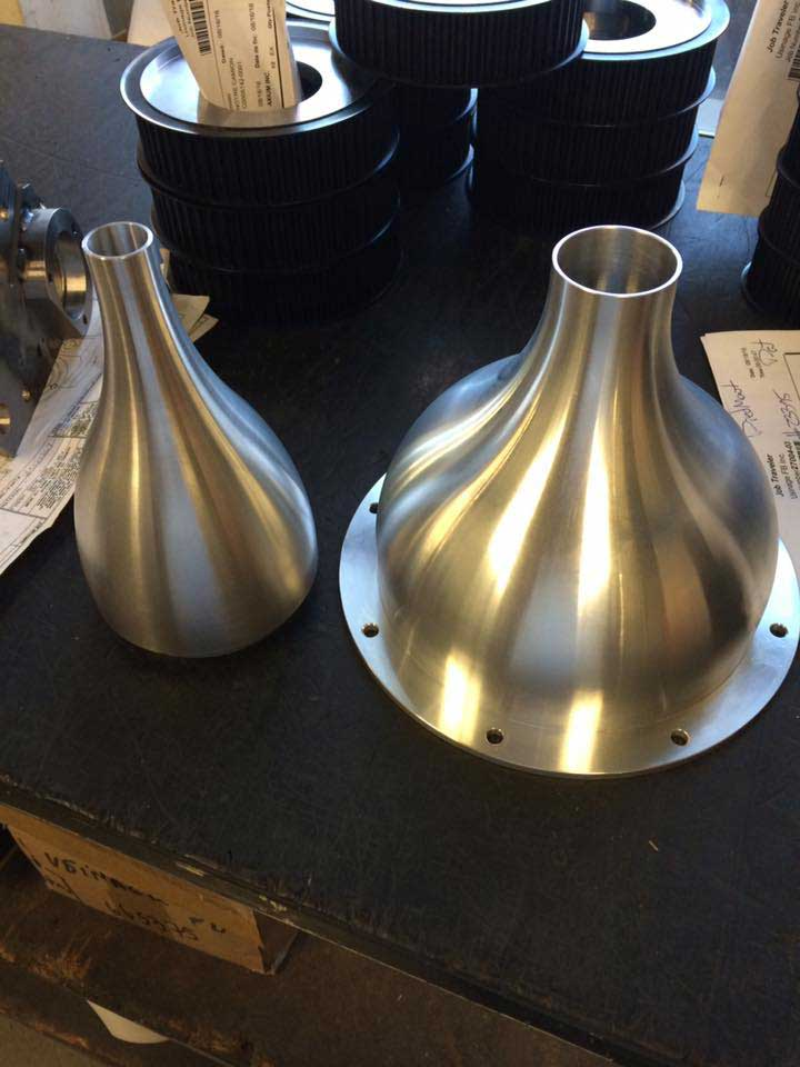 Usinage de métal CNC et placage de Chrome - Qc, Canada